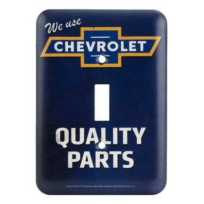 CHEVROLET QUALITY PARTS SWITCH PLATE 3.5x5