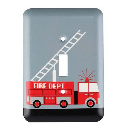 FIRE DEPT. SWITCH PLATE 3.5