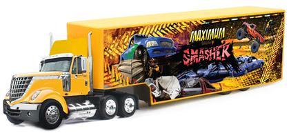 International Lonestar with Maximum Smasher Monster Truck Graphics