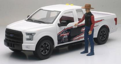 Ford F-150 with Bull Rider Figure