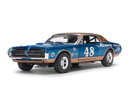 Mercury Cougar 1967 Racing #48 Scott Hackenson