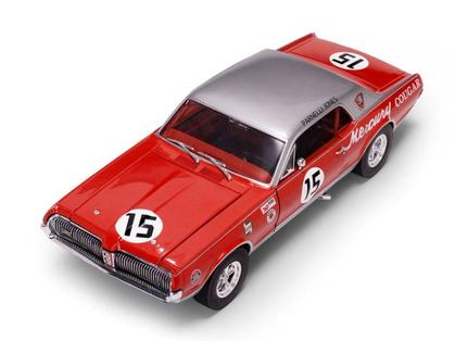Mercury Cougar 1967 Racing #15 Parnelli Jones
