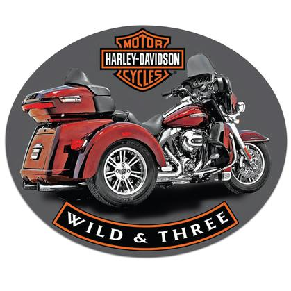 Harley-Davidson Wild and Three