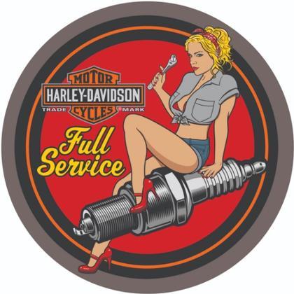 Harley-Davidson Spark Plug Babe