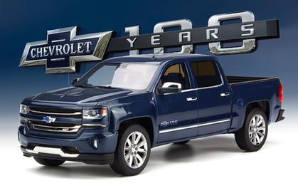 Chevrolet Silverado 2018 Centennial Edition