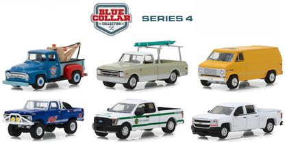 Blue Collar Collection Series 4 Set