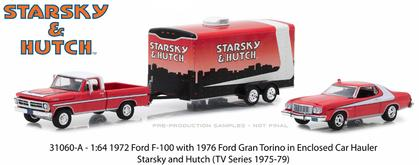 1972 Ford F-100 & 1976 Ford Gran Torino in Enclosed Car Hauler
