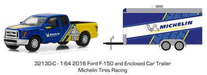 2016 Ford F-150 with Racing Trailer