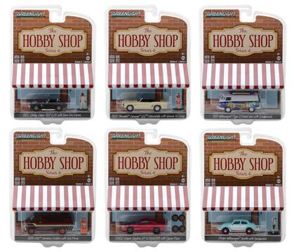 The Hobby Shop Series 4 1:64 Set