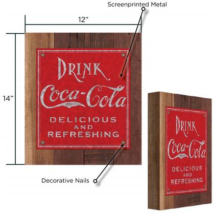 Drink Coca-Cola Sign