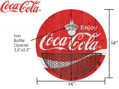Coca-Cola bottle opener 14