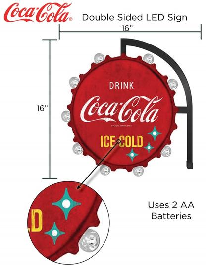 Coca-Cola Double Face LED 16