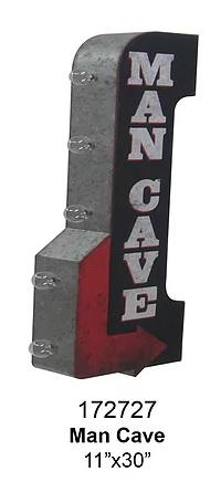 OFF THE WALL SIGN - Man Cave
