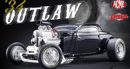 1934 BLOWN ALTERED COUPE