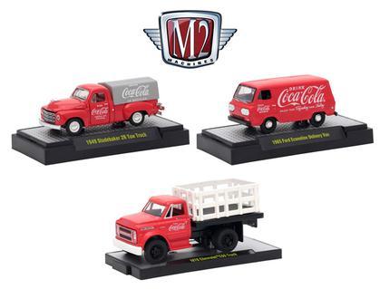 1:64 M2 Coca-Cola Release RW01 SET