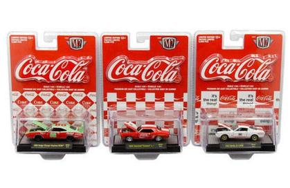 M2 Coca-Cola Release RC01M 1:64 SET