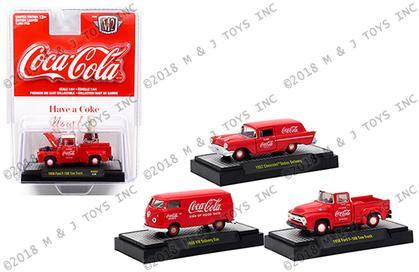 M2 Coca-Cola Release RW02M 1:64 SET