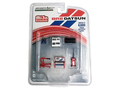 1/64 DATSUN BRE GARAGE TOOLS SET OF 6 BROCK RACING