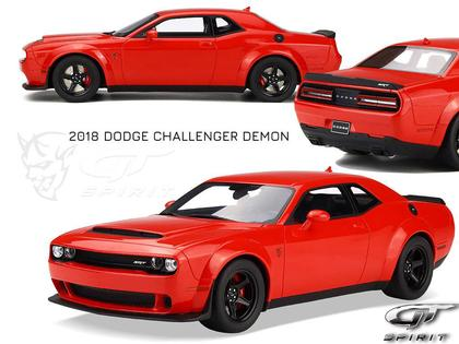 Dodge Challenger SRT Demon 2018 (Dec.2018)