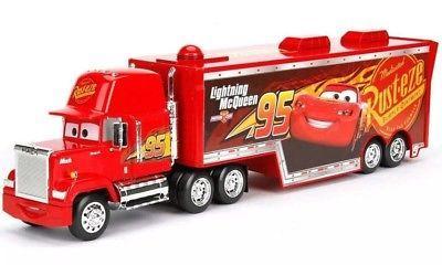 Disney Pixar Mack Lighting McQueen 95 Piston Cup Truck Trailer
