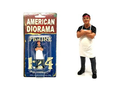 Food Truck Chef Victor Figure 1/24