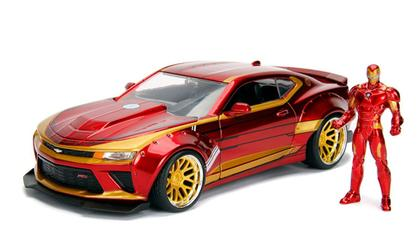 2016 Chevrolet Camaro SS with Iron Man Figure