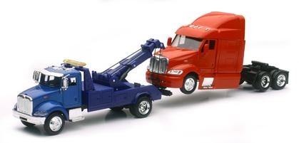 Peterbilt 335 Tow Truck and Peterbilt 387 Cab