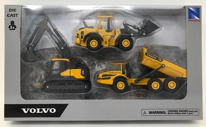 Volvo Construction Playset 5.5