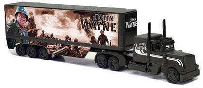 Peterbilt 379 Long Hauler John Wayne Military Style