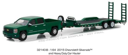 2015 Chevy Silverado and Heavy Duty Car Hauler