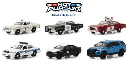 Hot Pursuit Series 27 1/64 SET