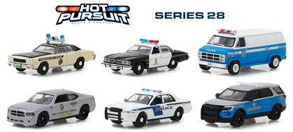 Hot Pursuit Series 28 1/64 SET