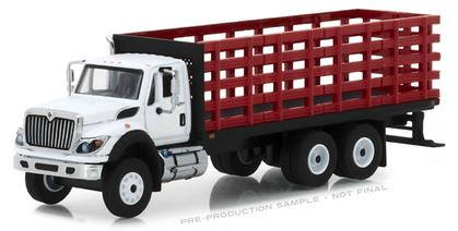 2018 International WorkStar Platform Stake Truck Super Duty Trucks Series 5