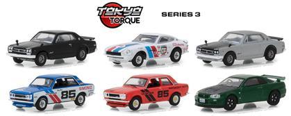 Tokyo Torque Series 3 1/64 Set