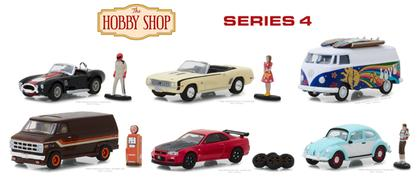 The Hobby Shop Series 4 1/64 SET