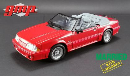 Ford Mustang 1988 Convertible Just Married With Children)