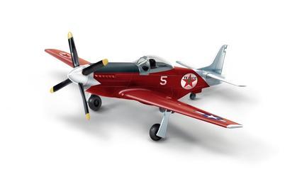 1945 North American P-51D Mustang Texaco 1:44