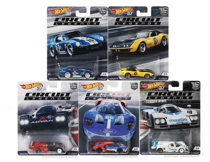 Car Culture E Circuit Legends 1/64 Set