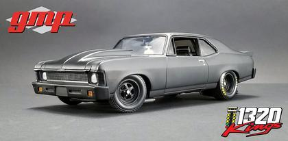 Chevrolet Nova 1969 Blackout -  1320 Drag King