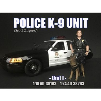 Figure Police K9 Unit I (With dog)