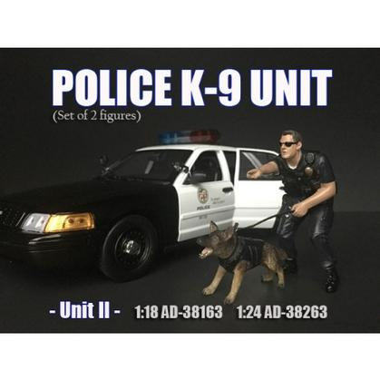 Figure Police K9 Unit II (With dog)