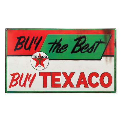 BUY TEXACO DOMED TIN SIGN 26