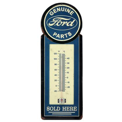 FORD METAL THERMOMETER 5