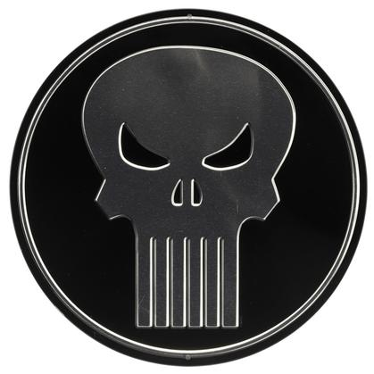 PUNISHER ROUND EMBOSSED TIN SIGN 12