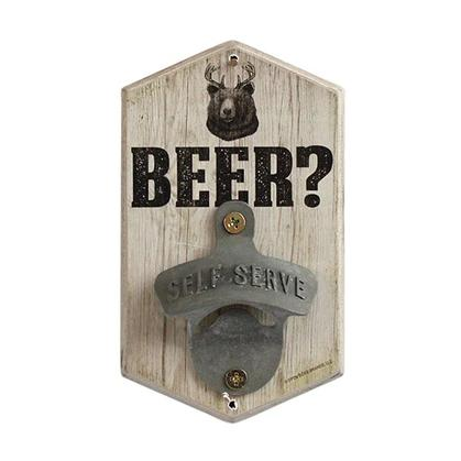 RUSTIC BEER? BEAR BOTTLE OPENER 3.5