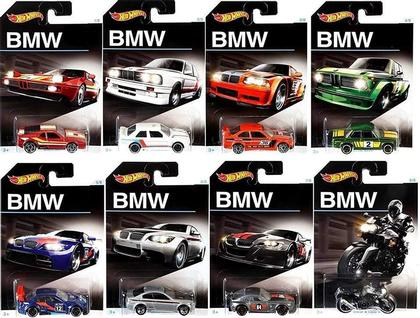 Hot Wheels 1:64 BMW Assortment (8 Styles)