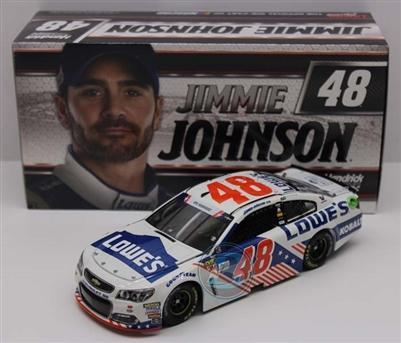 Jimmie Johnson 2017 #48 Chevrolet SS Lowe's Patriotic