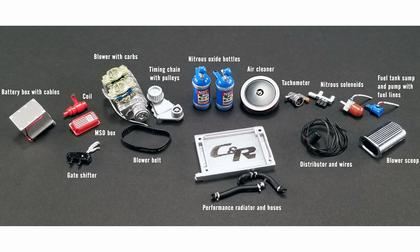 1:18 GMP 1320 DRAG KINGS ACCESSORY PACK
