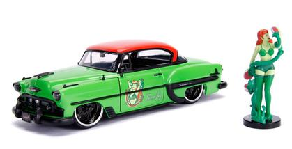 Chevrolet Bel Air 1953 with Poison Ivy Figure DC Comics Bombshells