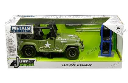 Jeep Wrangler 1992 with Extra Wheels